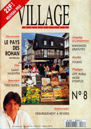 VILLAGE MAGAZINE no:8 01/05/1994