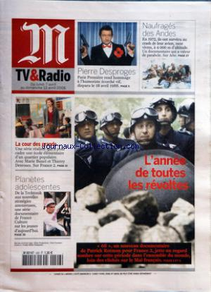 M TV ET RADIO no:406 07/04/2008