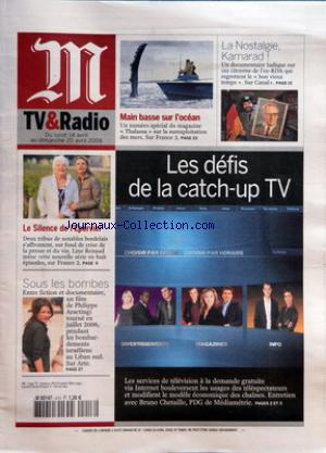 M TV ET RADIO no:413 14/04/2008