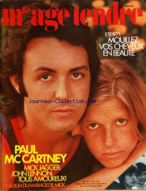 MLLE AGE TENDRE no:81 01/08/1971