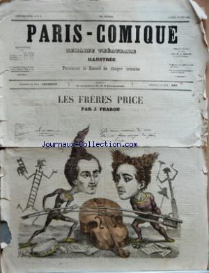 PARIS COMIQUE no:8 22/06/1867