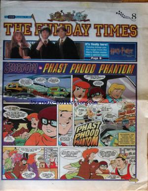FUNDAY TIMES (THE) no:635 11/11/2001