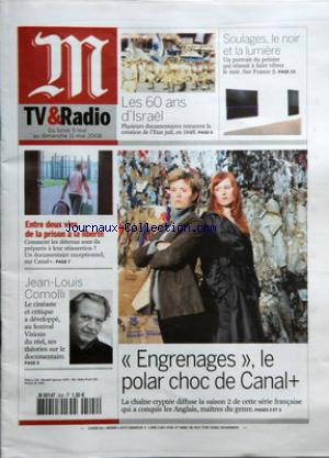 M TV ET RADIO no:504 05/05/2008