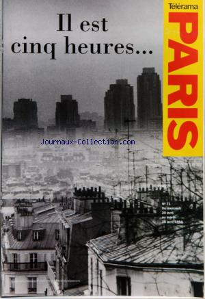 TELERAMA PARIS no:71 20/04/1994