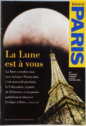 TELERAMA PARIS no:7 02/12/1992