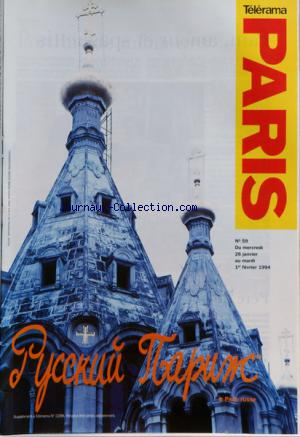 TELERAMA PARIS no:59 26/01/1994