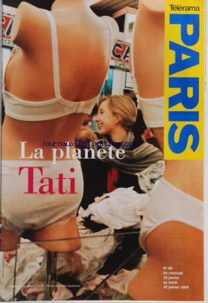 TELERAMA PARIS no:58 19/01/1994