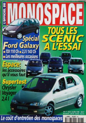 OFFICIEL DU MONOSPACE (L') no:7 01/06/1998