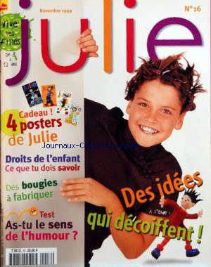 JULIE no:16 01/11/1999