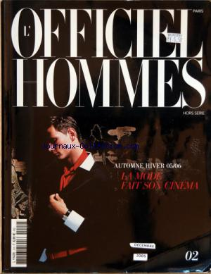 OFFICIEL HOMMES (L') no:2 HS 01/12/2005