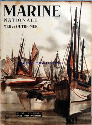 MARINE NATIONALE no:32 01/06/1947