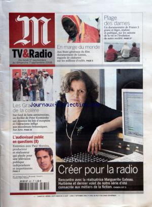 M TV ET RADIO no:831 01/09/2008