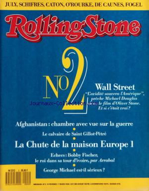ROLLING STONE no:2 10/02/1988