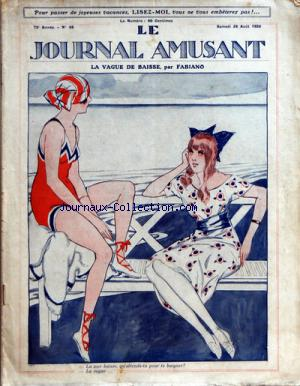 JOURNAL AMUSANT (LE) no:68 28/08/1920