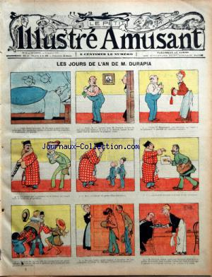 PETIT ILLUSTRE AMUSANT (LE) no:2 09/01/1909