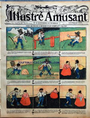 PETIT ILLUSTRE AMUSANT (LE) no:7 15/02/1908