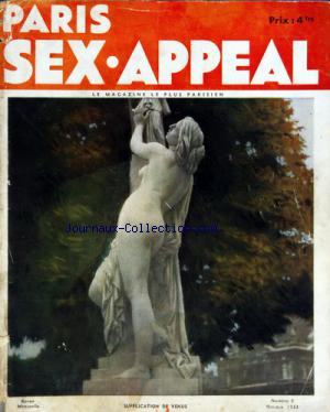 PARIS SEX APPEAL no:3 01/10/1933