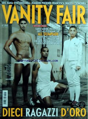 VANITY FAIR ITALIE no:17 30/04/2008