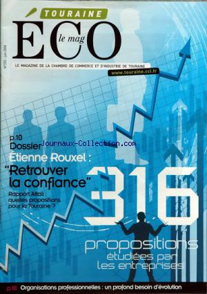 ECO LE MAG TOURAINE no:255 01/06/2008