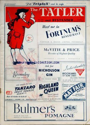 TATLER AND BYSTANDER (THE) no:2468 27/10/1948