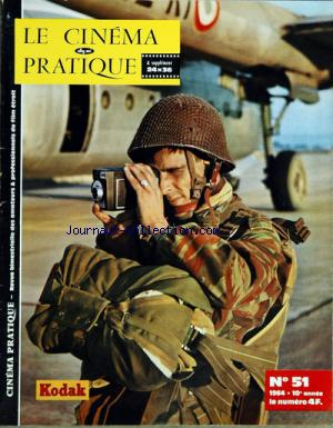 CINEMA PRATIQUE (LE) no:51 01/03/1964