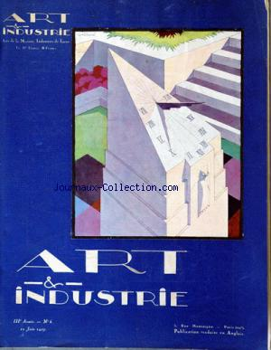 ART ET INDUSTRIE no:6 10/06/1927