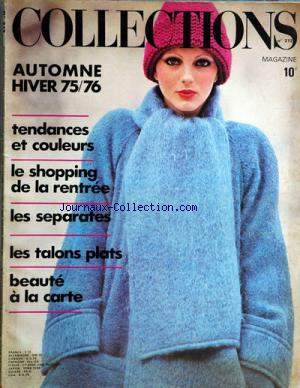 COLLECTIONS MAGAZINE no:212 01/12/1975