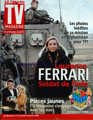FIGARO TV MAGAZINE (LE) no:20046 11/01/2009
