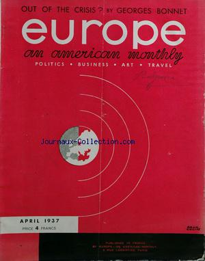 EUROPE AN AMERICAN MONTHLY no: 01/04/1937