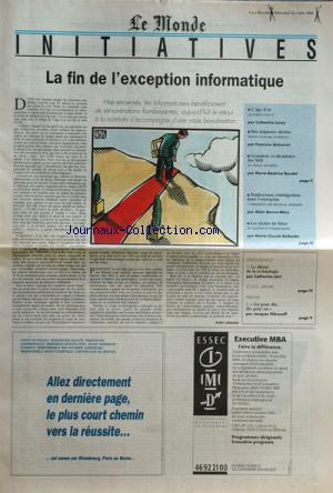 MONDE DES INITIATIVES (LE) no: 23/03/1994