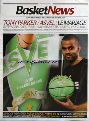 BASKET NEWS no:5 bis 01/02/2009