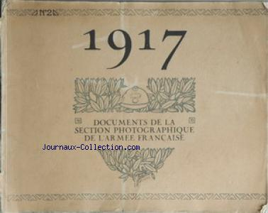 DOCUMENTS DE LA SECTION PHOTOGRAPHIQUE DE L'ARMEE FRANCAISE no:2