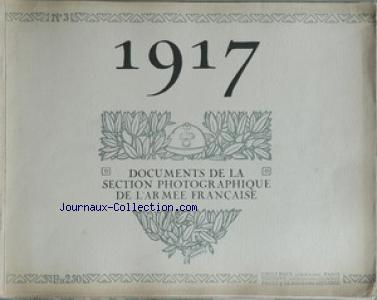 DOCUMENTS DE LA SECTION PHOTOGRAPHIQUE DE L'ARMEE FRANCAISE no:3
