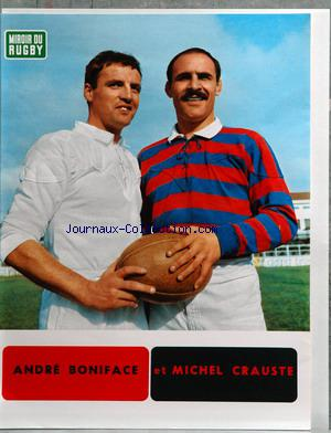 PHOTO - MIROIR DU RUGBY no:54 31/01/1966