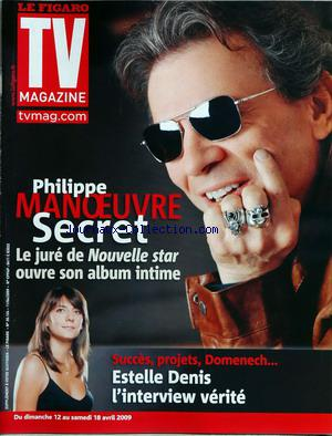 FIGARO TV MAGAZINE (LE) no:20124 12/04/2009