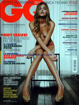 GQ ITALIE no:105 01/07/2008