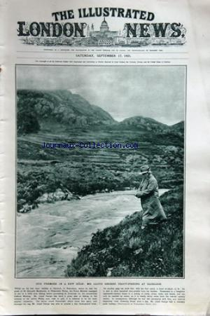 ILLUSTRATED LONDON NEWS (THE) no: 17/09/1921