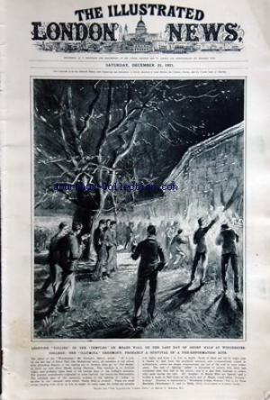 ILLUSTRATED LONDON NEWS (THE) no: 31/12/1921