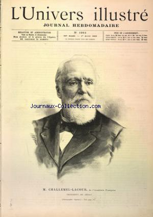 UNIVERS ILLUSTRE (L') no:1984 01/04/1893