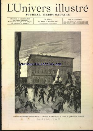 UNIVERS ILLUSTRE (L') no:2005 26/08/1893