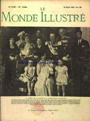 MONDE ILLUSTRE (LE) no:4138 10/04/1937