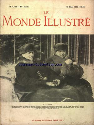 MONDE ILLUSTRE (LE) no:4134 13/03/1937