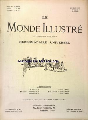 MONDE ILLUSTRE (LE) no:3248 20/03/1920