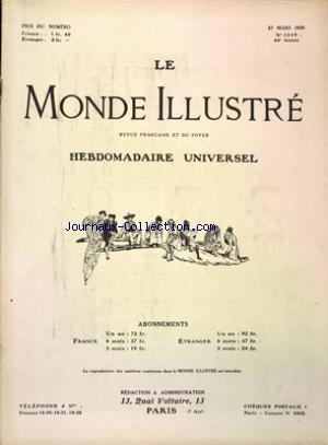 MONDE ILLUSTRE (LE) no:3249 27/03/1920