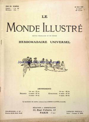 MONDE ILLUSTRE (LE) no:3257 22/05/1920