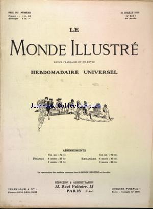 MONDE ILLUSTRE (LE) no:3264 10/06/1920
