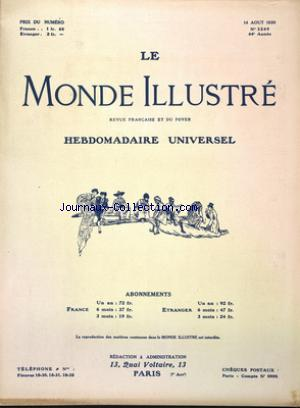 MONDE ILLUSTRE (LE) no:3269 14/08/1920