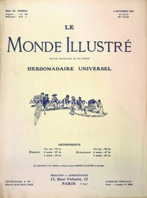 MONDE ILLUSTRE (LE) no:3272 04/09/1920
