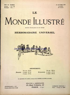 MONDE ILLUSTRE (LE) no:3279 23/10/1920
