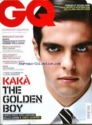 GQ ITALIE no:99 01/12/2007